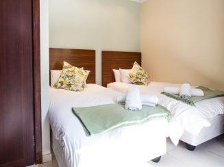 Twin bed accommodation at Villa Ti Amo Ramsgate