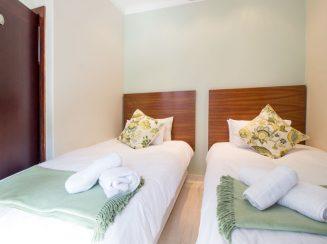 Villa Ti Amo seaside accommodation twin bedroom